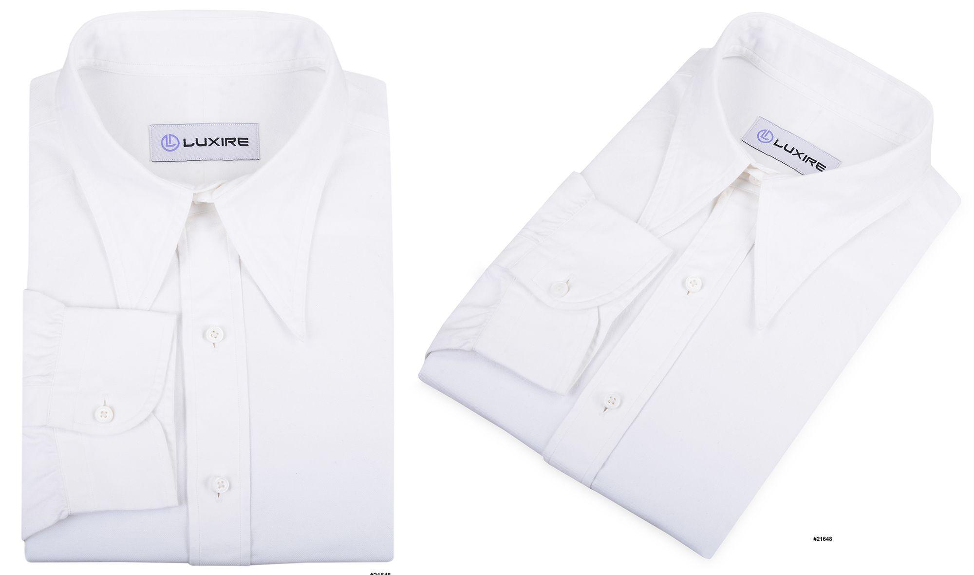 Warzone White Oxford Formal Shirts Formal Shirts Shirts Oxford
