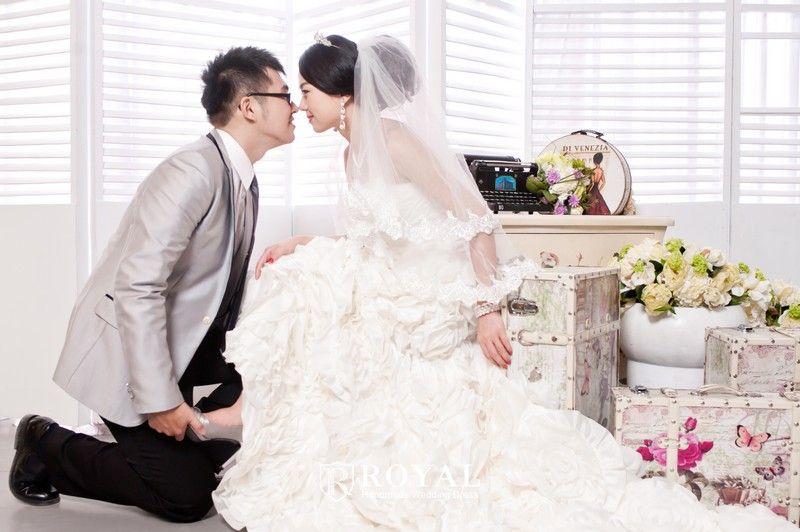 板橋蘿亞手工婚紗Royal handmade wedding dress 婚紗攝影 婚禮攝影 詹攝