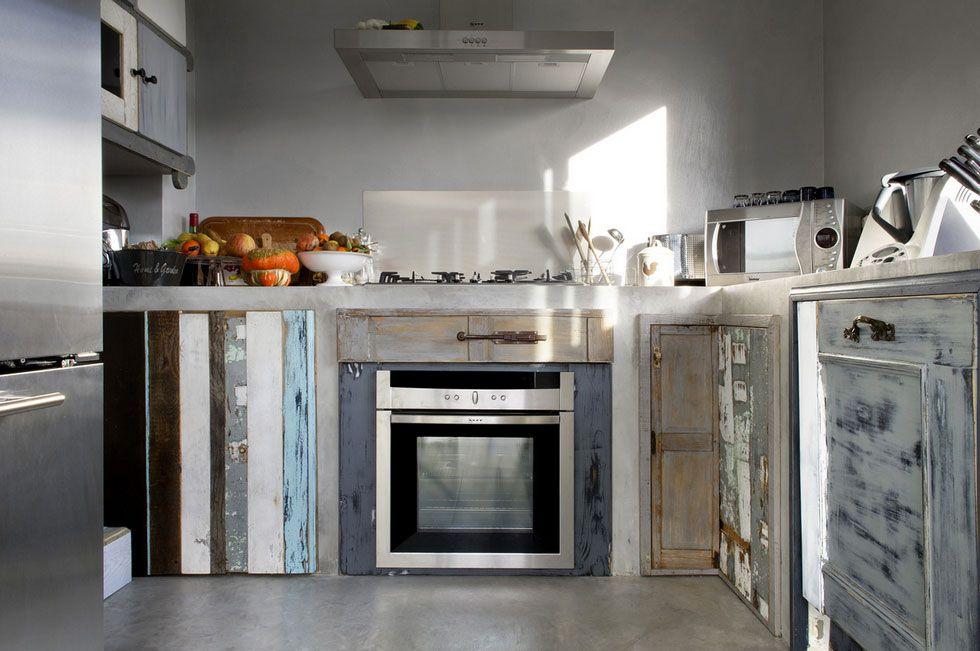 idee-di-mobili-per-cucina-cucina-fai-da-te-con-accessori-di ...
