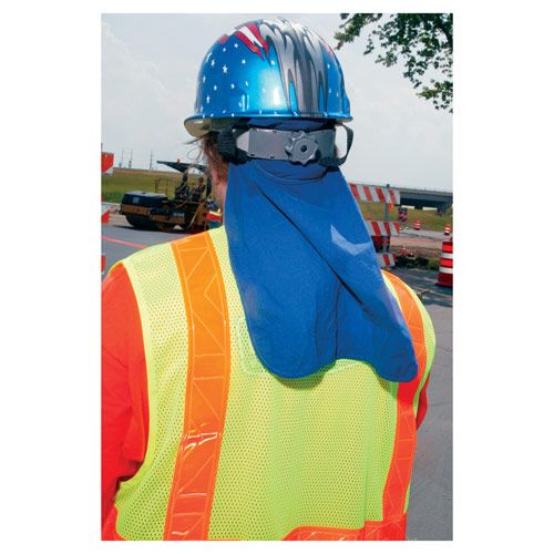 Chill Its 6717 Cooling Hard Hat Pad W Neck Shade Hard Hat Hard