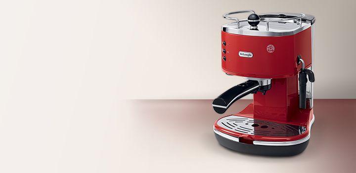 The New Pump Driven Delonghi Icona Eco310r Coffee Machine