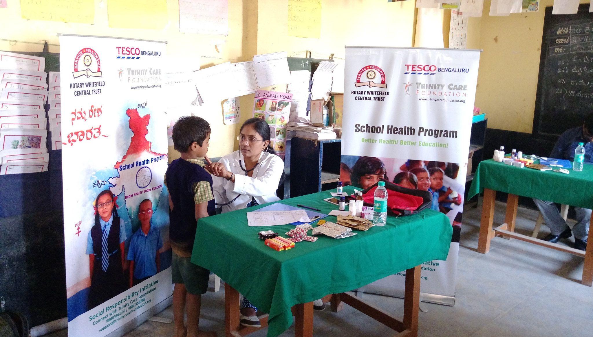 School health programme India Health programs, School