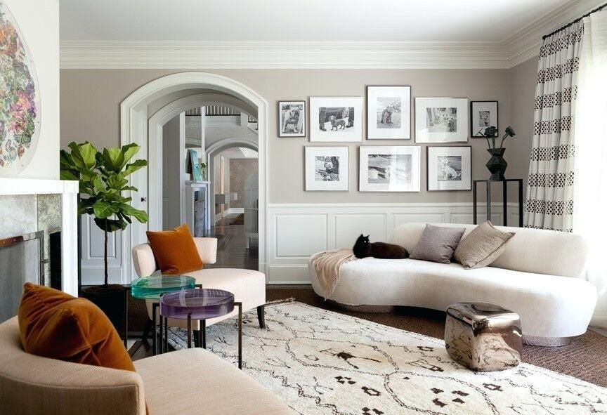 Living Room With End Table