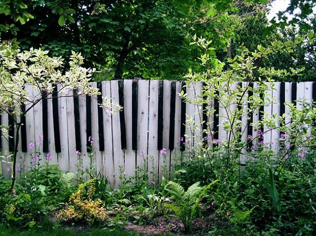 See The Best Garden Fencing Ideas With Decorative Fence Panels Made Of Wood  And Metal With Cheep Designs, Original Wood Picket Fence Panels, Garden  Fence