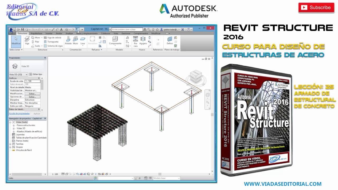 Revit Structure 2016 | Tutorial en Español | Leccion 22 | Curso Completo