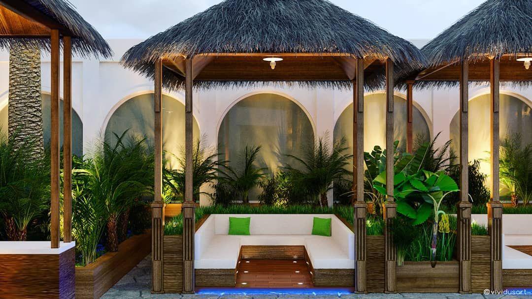 تنسيق الحدائق يستند إلى معايير الذوق والمساحة والمكونات Vividusart Mazen Ezou Vividus 00974 77705969 Doha Qatar Sportclub Outdoor Decor Outdoor Bed Design