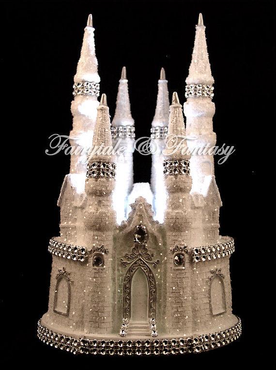 Cinderella Schloss Marchen Hochzeitstorte Von Fairytaleandfantasy