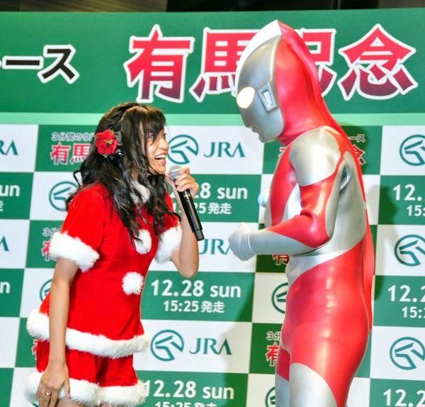 小島瑠璃子&ウルトラマン/G1レース「有馬記念」ウルトラ・トークセッション