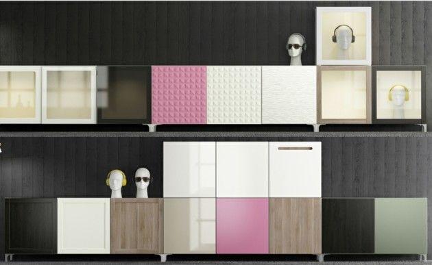 Ikea Wohnwand Besta Ein Flexibles Modulsystem Mit Stil Wohnideen