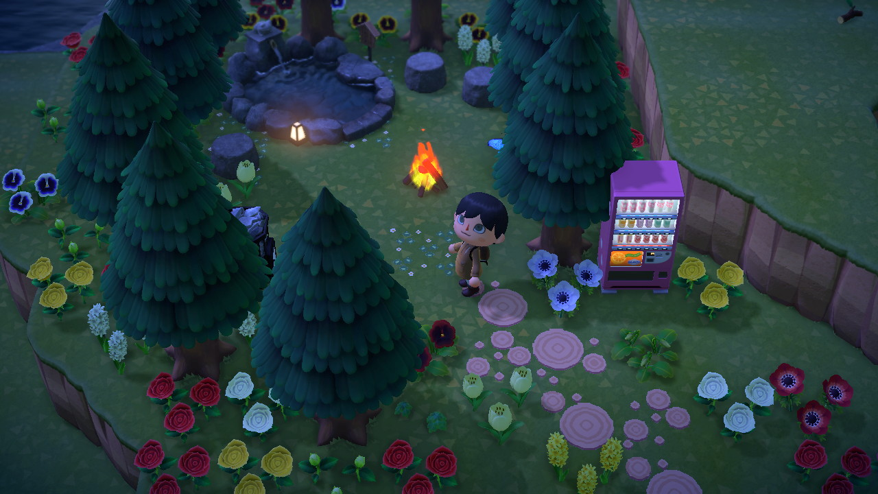 Outside Pond In 2020 New Animal Crossing Animal Crossing Game Animal Crossing Qr