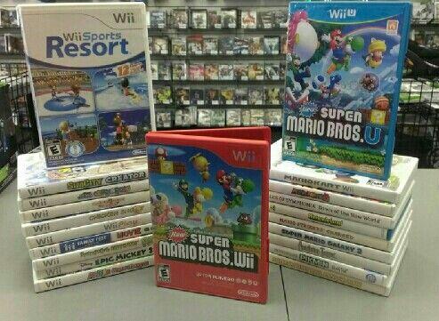 Wii games anyone?