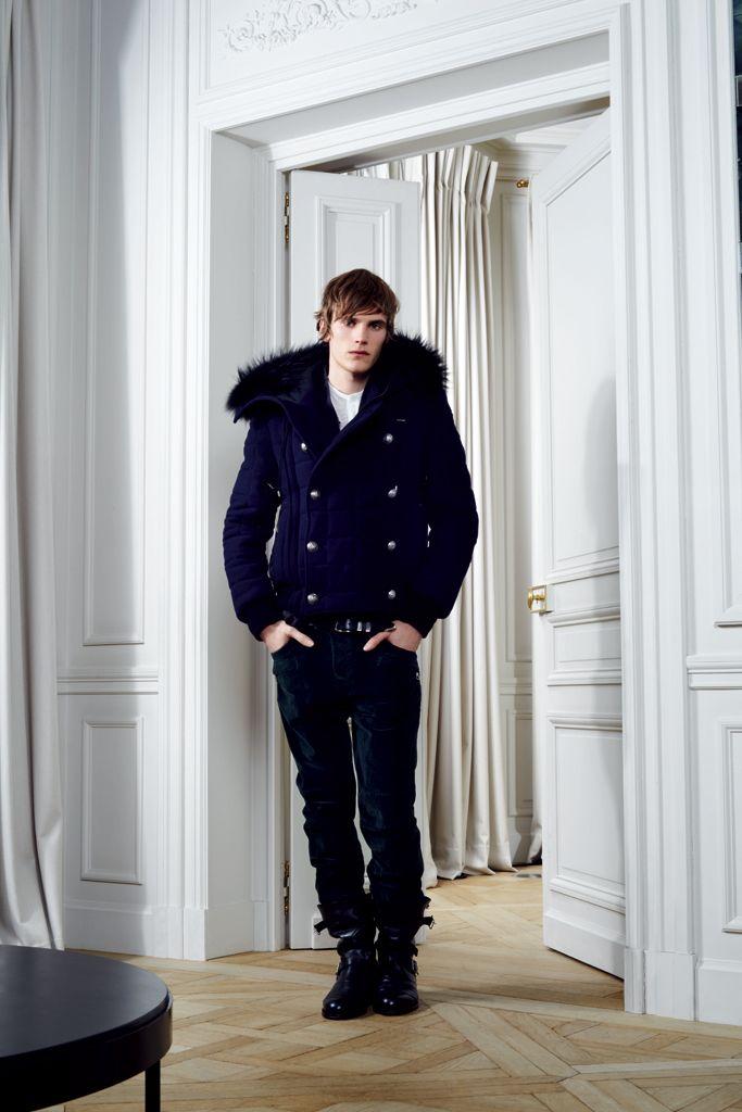 Balmain Fall 2012 - Winter 2013 #fur #fashion #menswear #winter