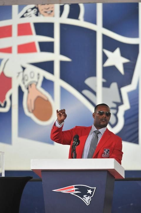 Ty Law s Patriots Hall of Fame Induction Ceremony  3b9b3cfe6