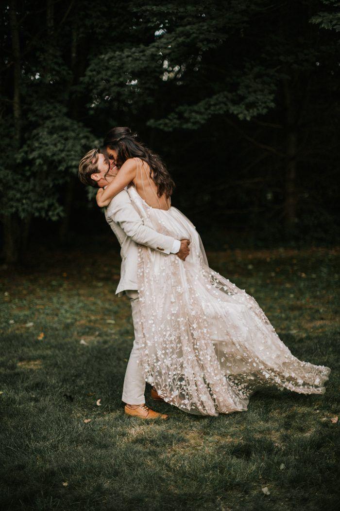 Romantic New England Forest Wedding at The Barn on Walnut Hill   Junebug Weddings