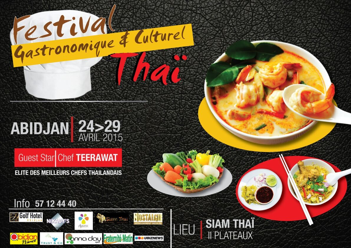 Le Lancement Du Festival Thai A Abidjan