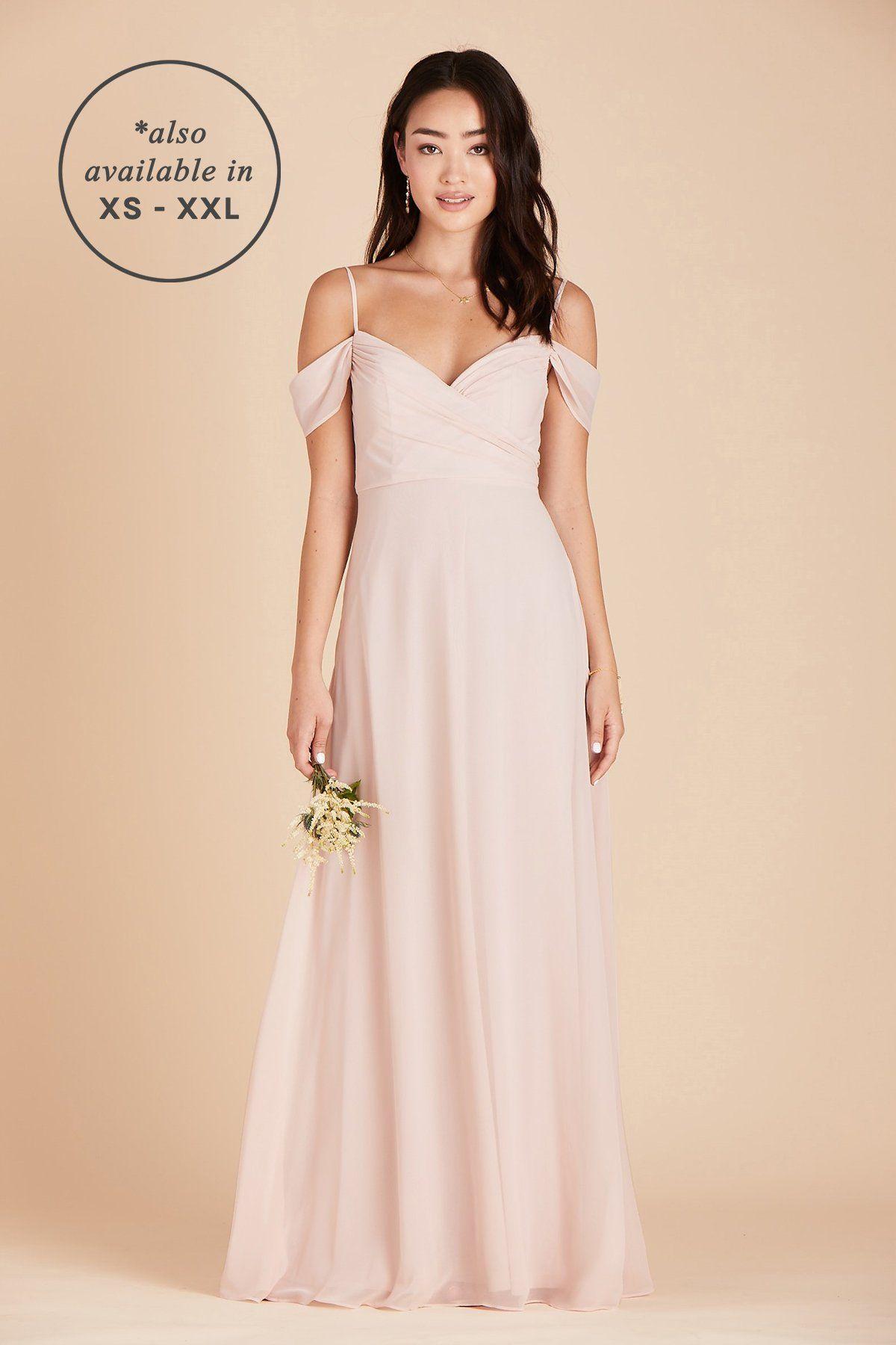 Spence Convertible Dress Curve Pale Blush Flattering Bridesmaid Dresses Blush Bridesmaid Dresses Affordable Bridesmaid Dresses [ 1800 x 1200 Pixel ]