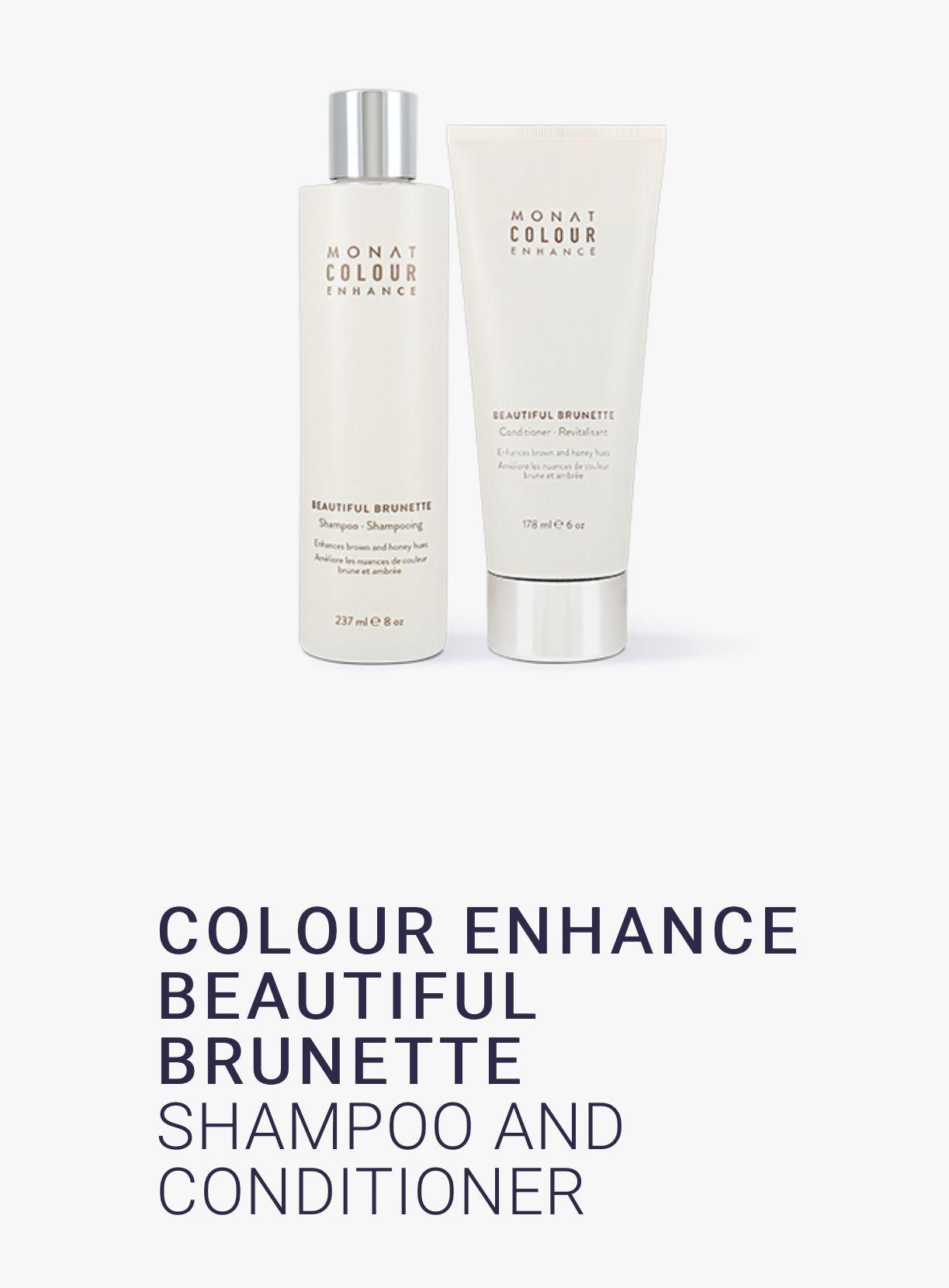 Colour Enchance Beautiful Brunette