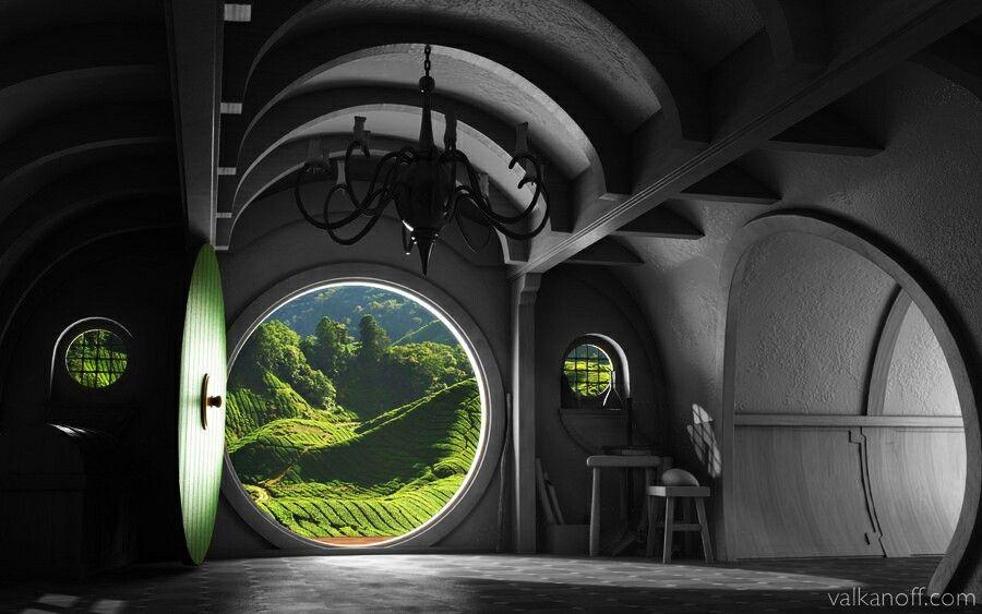 Hobbit doors