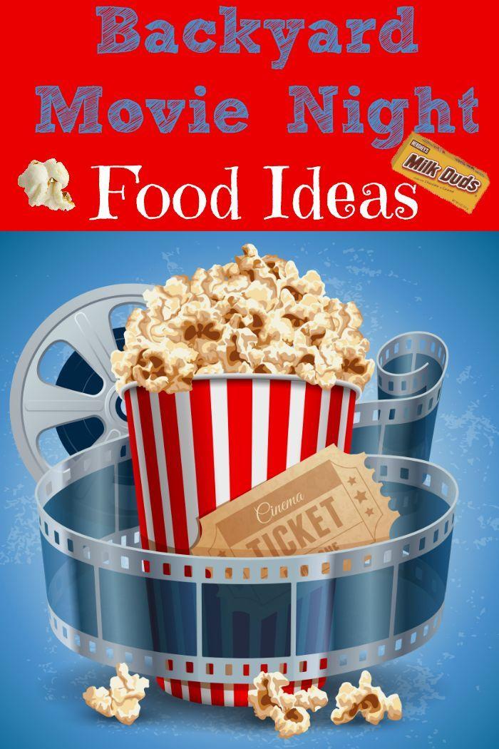 backyard movie night food ideas pinterest backyard movie nights