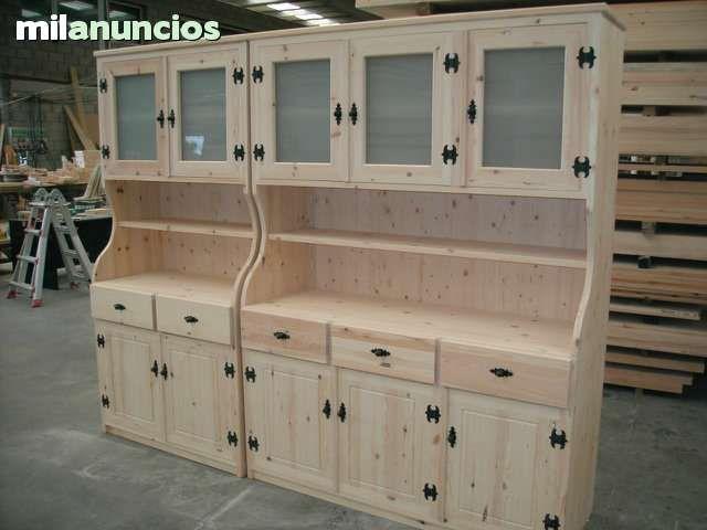 Muebles rusticos a medida mesas armarios foto 4 - Armarios a medida vitoria ...