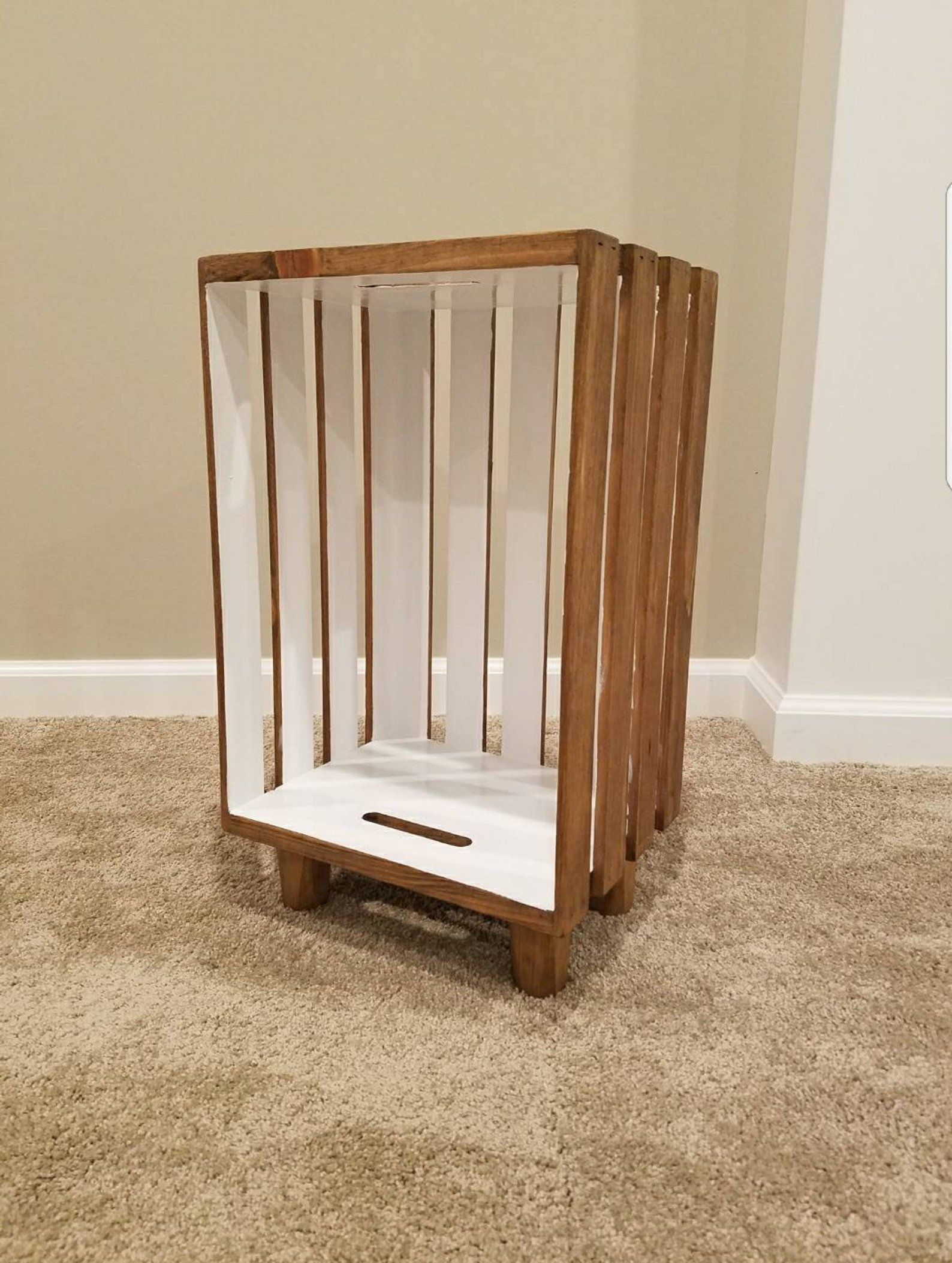 This Item Is Unavailable Etsy Crate Nightstand Wood Crates Wood Decor Diy