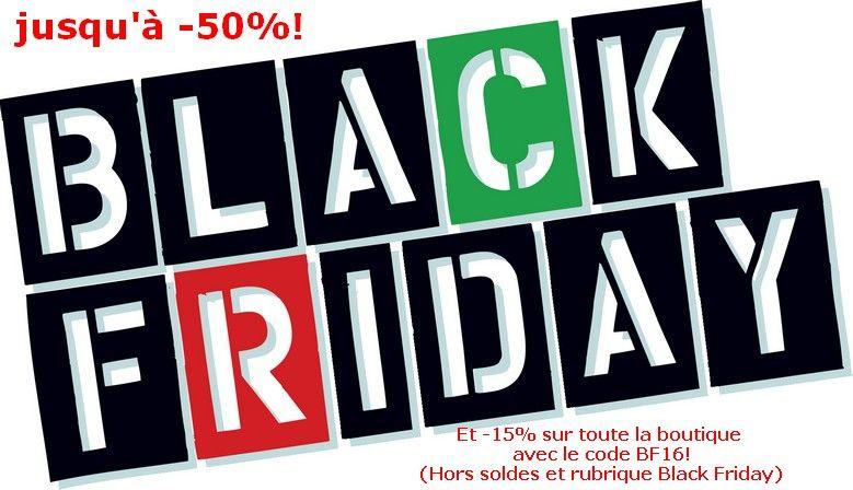 Jusqu'à ce soir Minuit c'est le Black Friday Chez Nails Papillons!!!! - Une sélection d'articles jusqu'à -50% - Et -15% avec le code BF16 sur toute la boutique (hors produits soldés)  https://www.nails-papillons.com/Boutique2