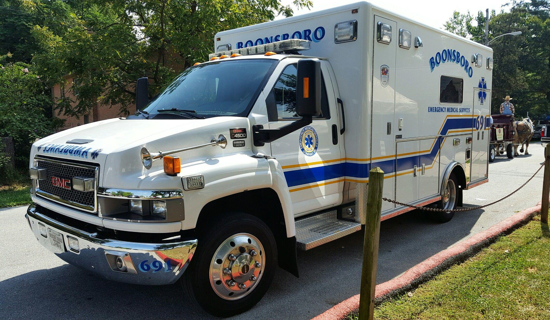 Boonsboro Md Ambulance Smiller70 Photo Ambulance Emergency