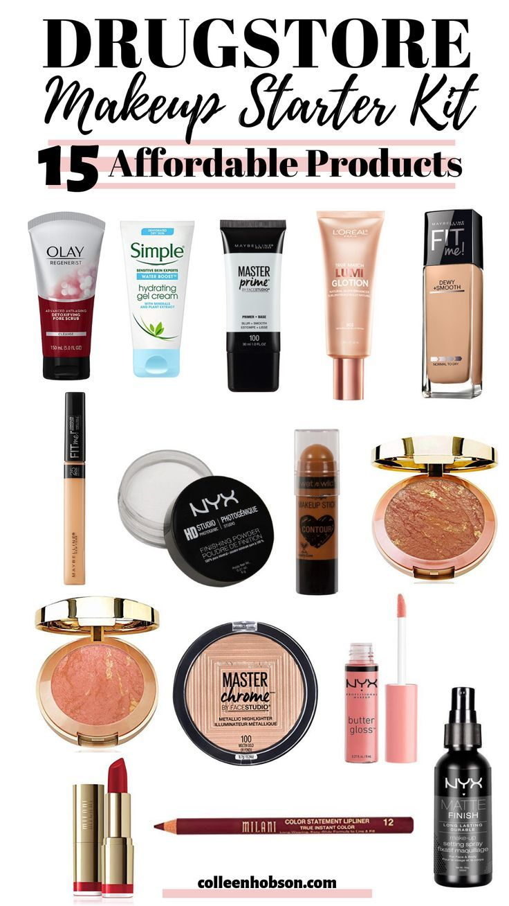 Drugstore Makeup Starter Kit For Beginners in 2020