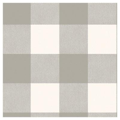 Buffalo Plaid Peel Stick Wallpaper Gray Threshold Peel And Stick Wallpaper Grey Check Wallpaper Taupe Walls