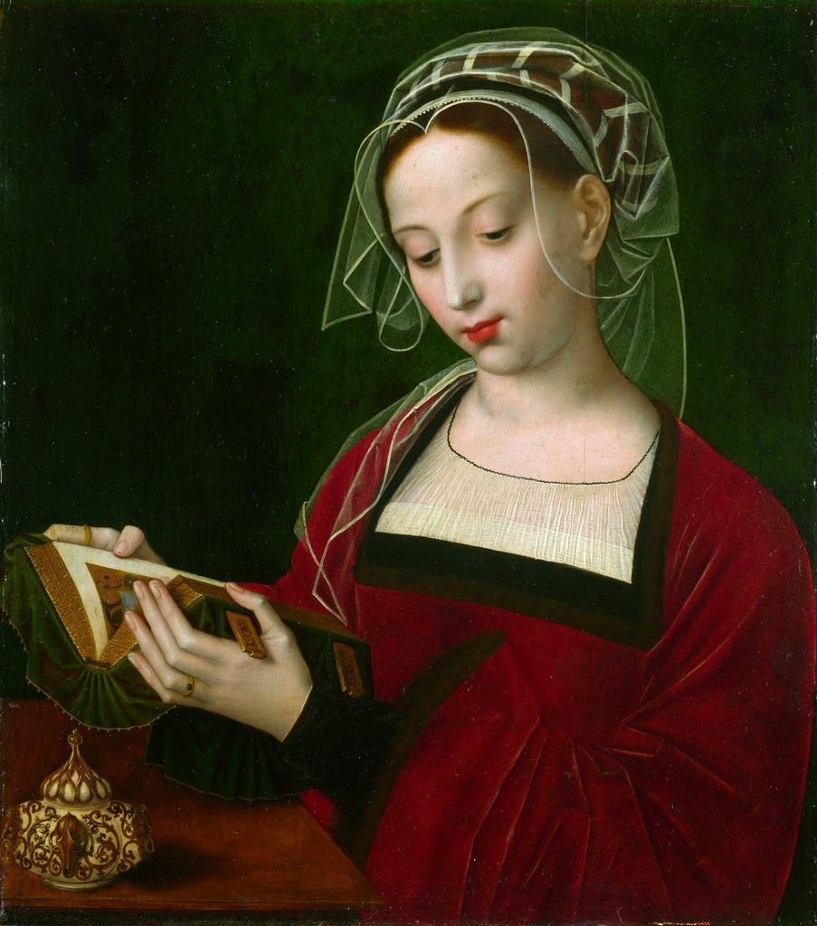 The Magdalen Reading (c. 1525) by Ambrosius Benson (1495