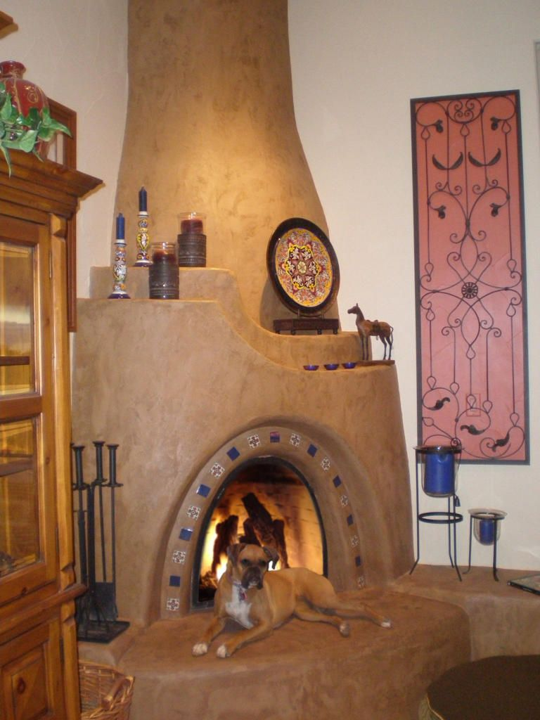 Zuni Kiva Fireplace Kit My Kiva Fireplace Pinterest
