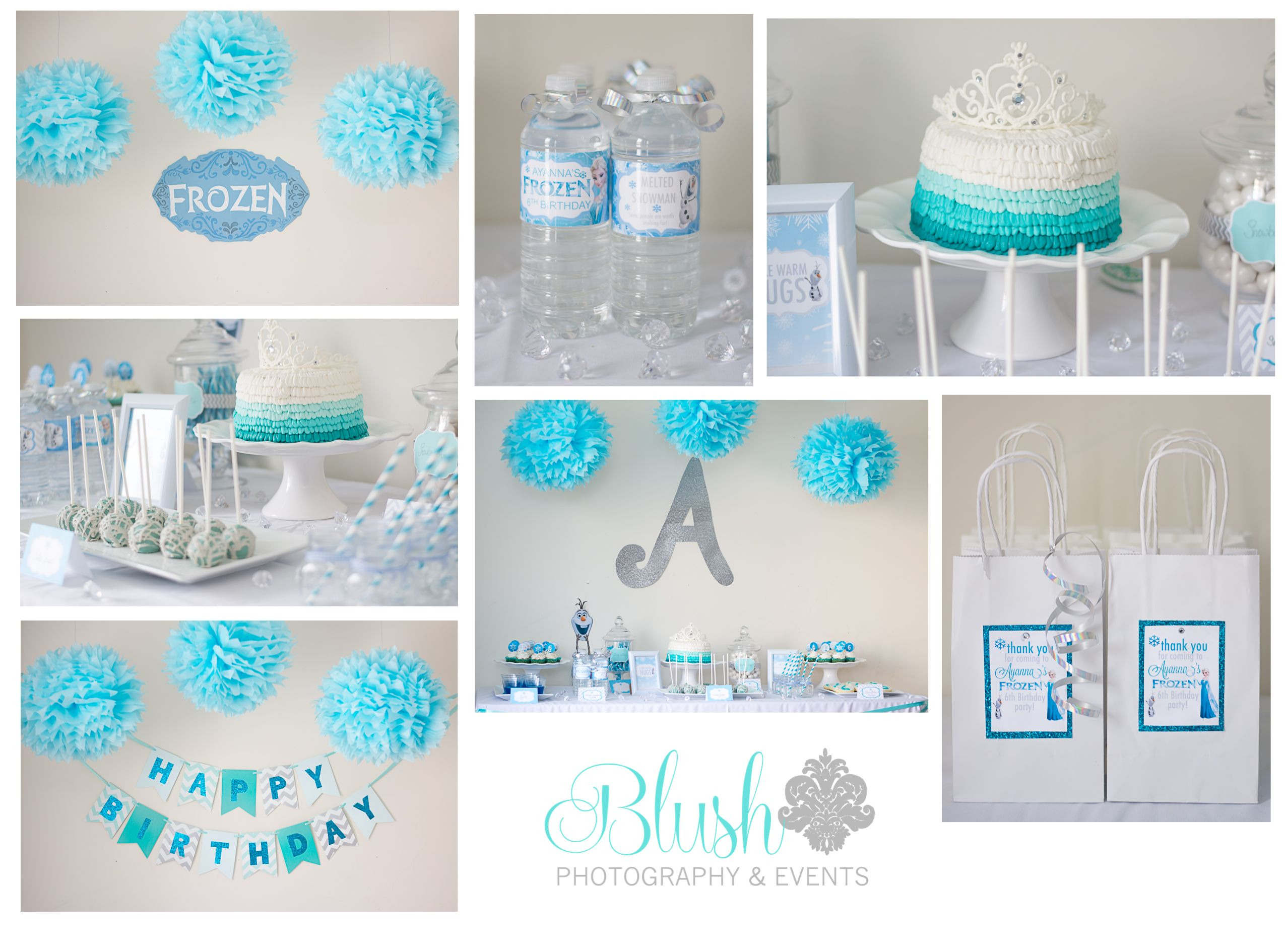 Disney Frozen Birthday Party Designed Styled By Blush Photography Events Event Planner
