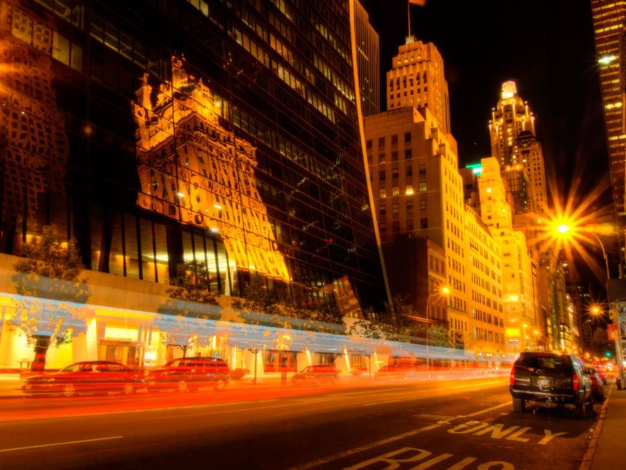57th Street in NYC by Hiro Nakajima on 500px
