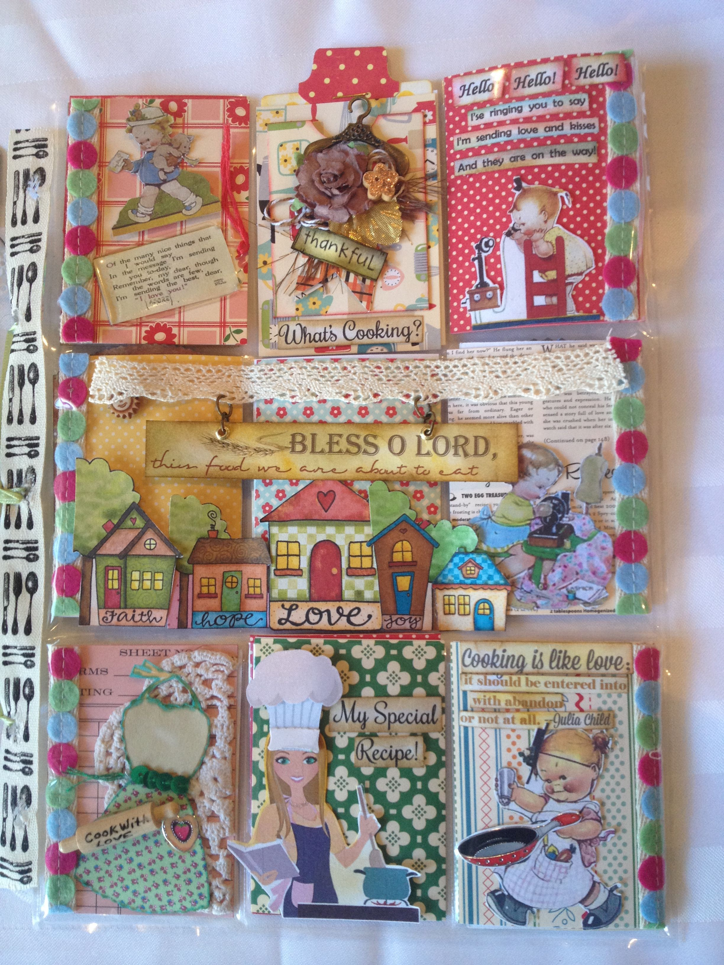Recipe Pocket Letter By Christina Betts Pocket Letters Pinterest