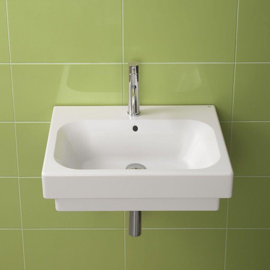 Bissonnet Universal Flex Ceramic Bathroom Sink In White   26000