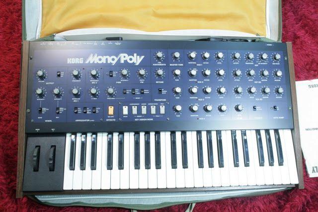 MATRIXSYNTH: Korg Mono Poly SN 372029 4 VCO Analog Synthesizer ...