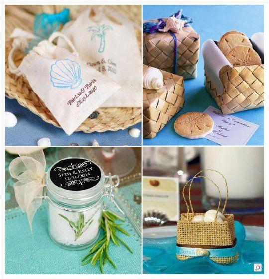 Souvent decoration mariage mer cadeaux pochon boite dragees | Thème mer  LI03