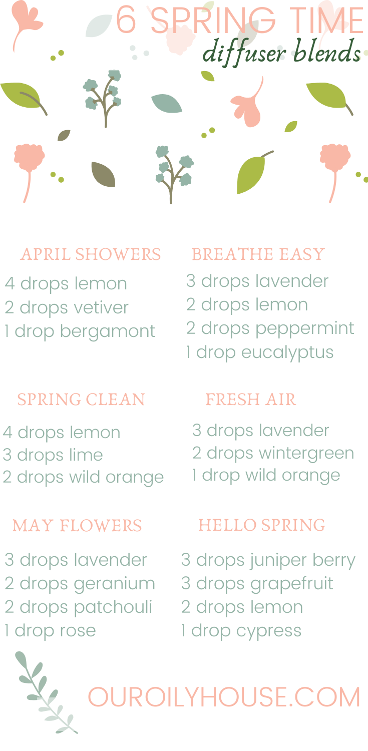 Best Essential Oil Diffuser Blends for Spring