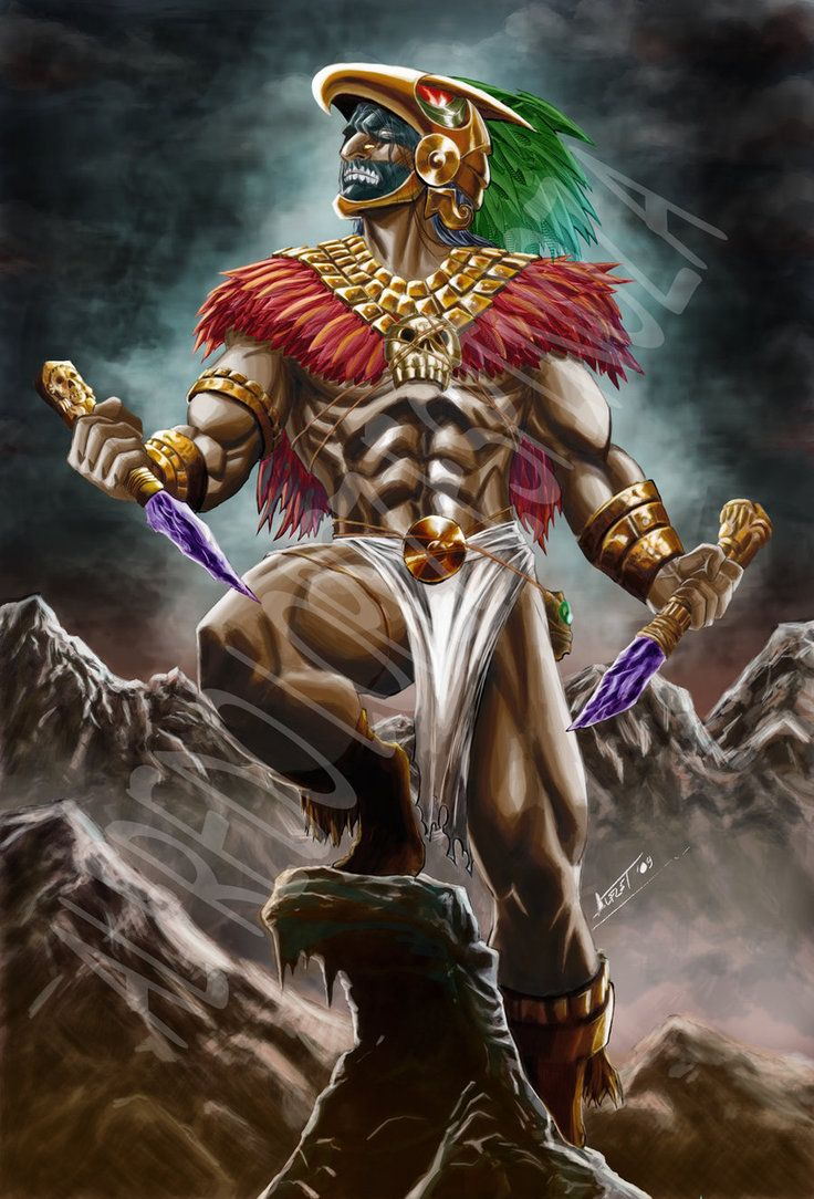 Guerrero Azteca 3 by alfret on deviantART   Guerrero azteca ...