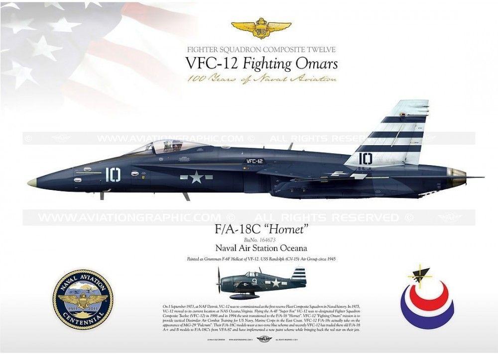 "F / A-18C VFC-12 ""Fighting Omars"" JP-1097"