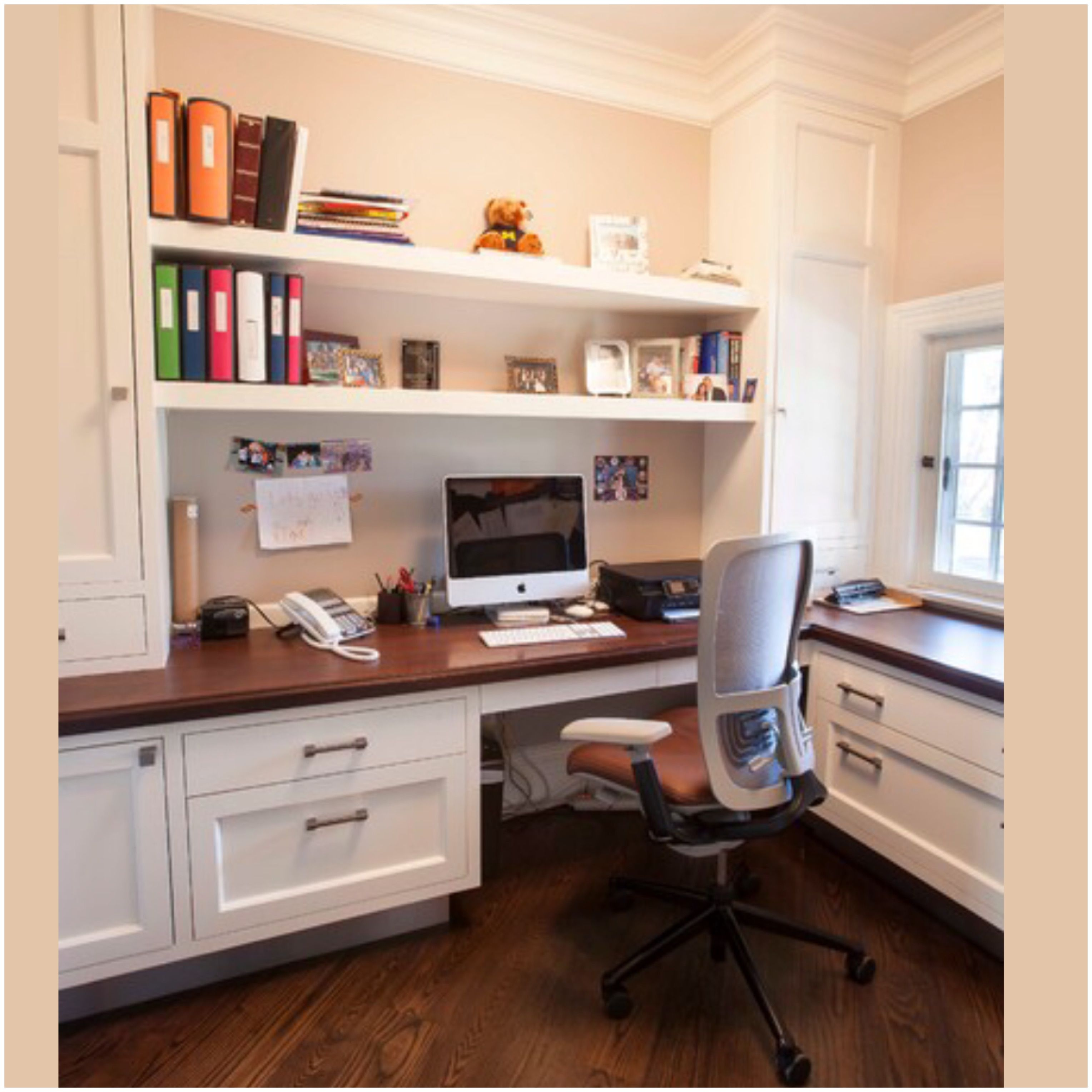 Cozy Home Office Remodel, Custom, Renovations Ideas