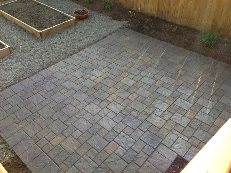 Patio   Dominion Slate In North West Blend