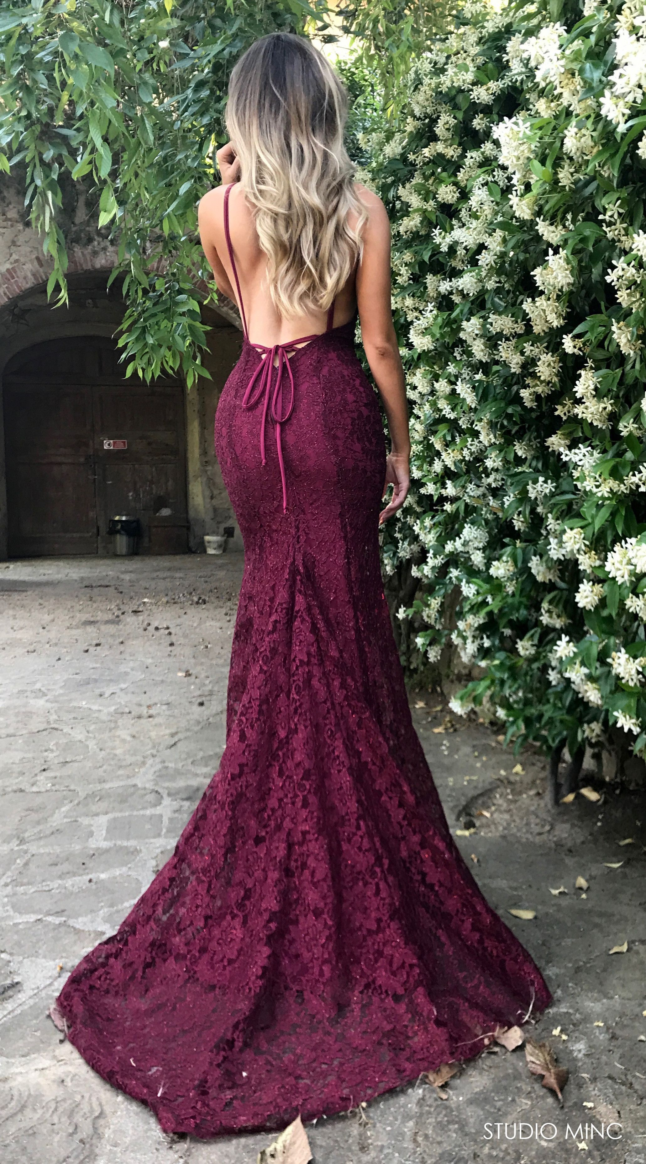 MAROON MYTHICAL - MAROON MYTHICAL DRESS BY STUDIO MINC #FORMAL
