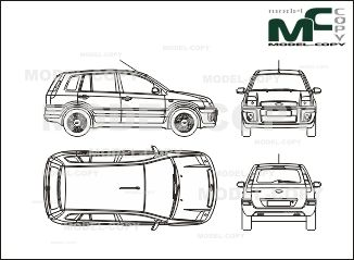 Ford fusion 2005 blueprints ai cdr cdw dwg dxf eps gif ford fusion 2005 blueprints ai cdr cdw dwg malvernweather Image collections