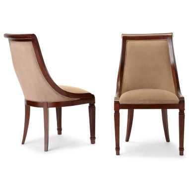 Edinburgh Set Of 2 Side Dining Chairs Found At JCPenney