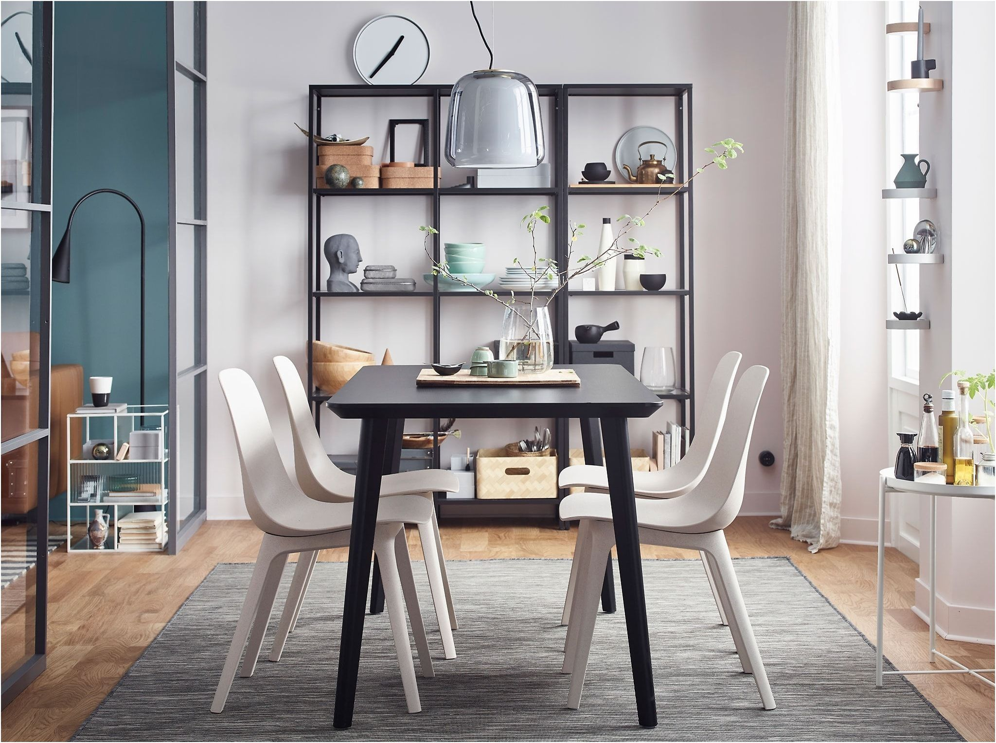 10 Amusant Ikea Table Salle A Manger Photos Ikea Dining Room Ikea Dining Dining Room Inspiration