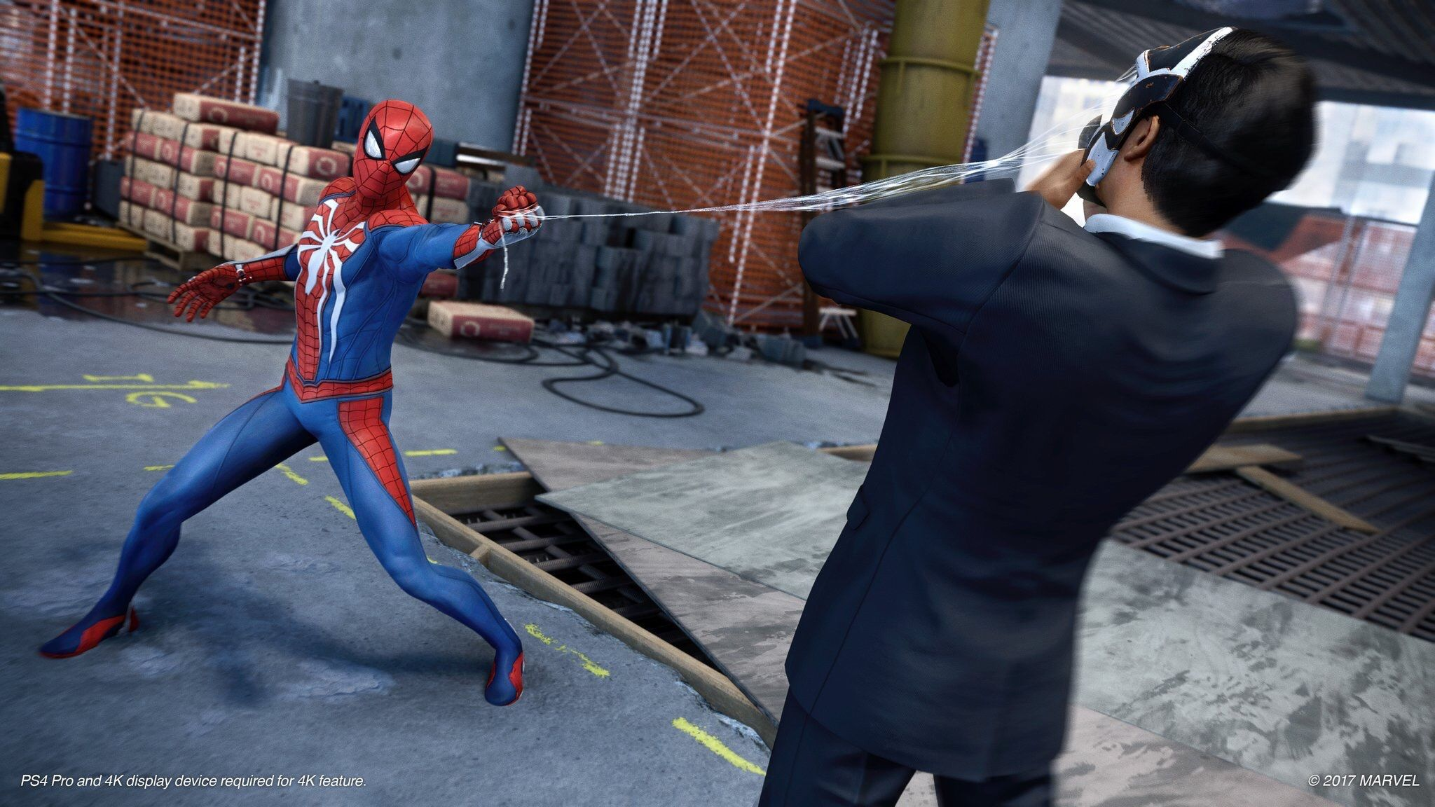 New Spider Man Ps4 And Kingdom Hearts Iii Footage To Debut This