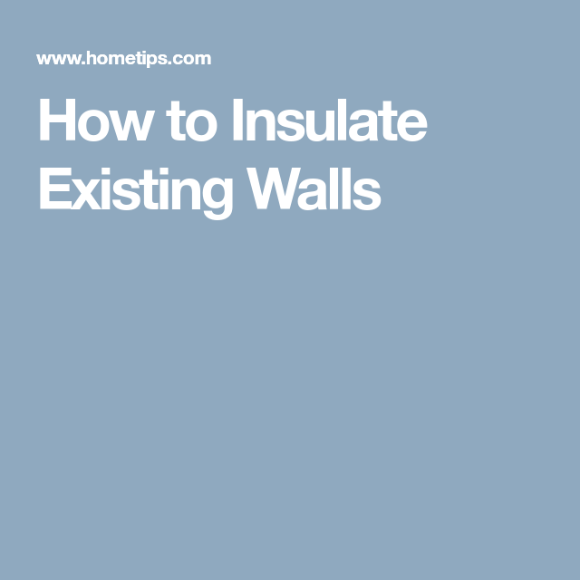 How To Insulate Existing Walls Insulation Blown In Insulation Cellulose Insulation