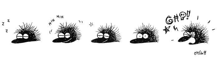 The grumpy hedgehog