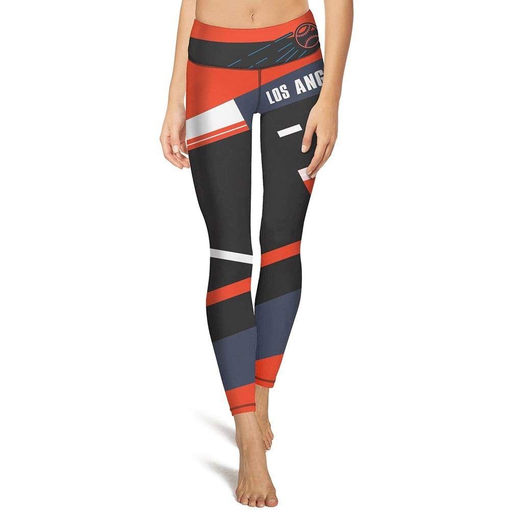 Women's High-Waist Yoga Pant Workout Leggings Running Pants Soft Capri with Hidden Pocket - Black/Co...